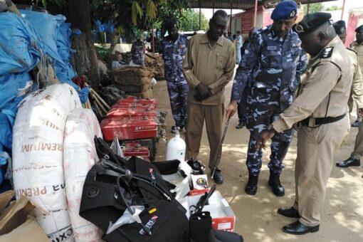 تدشين معدات ومعينات لشرطة الدفاع المدني بالنيل الأزرق