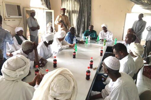 تجمع أهل القضارف يضعون مشاكلهم أمام رئيس التحالف السوداني