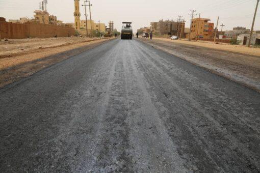 الطرق والجسور بولاية الخرطوم تقف علي تكملة مشروع شارع جياد