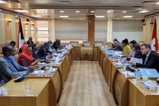 السودان وسويسرا يتفقان على احكام التنسيق بينهما في المحافل الدولية