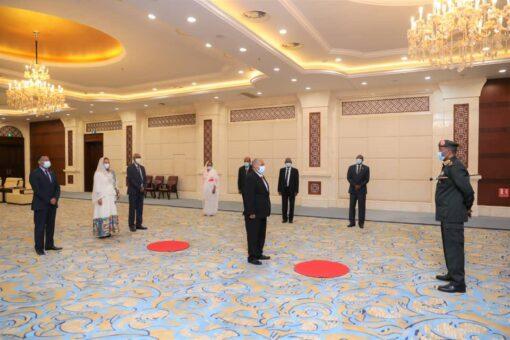رئيس مجلس السيادة يتسلم أوراق إعتماد سفيري أريتريا وكينيا