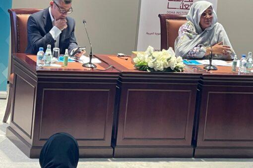 وزيرة الخارجية تقدم افاق الحلول لسد النهضة