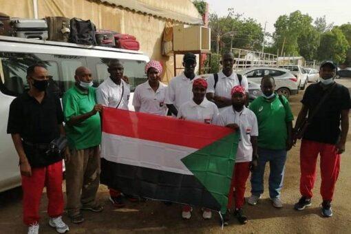 بعثة منتخب السودان للكرة الطائرة الشاطئية تتوجه للمغرب