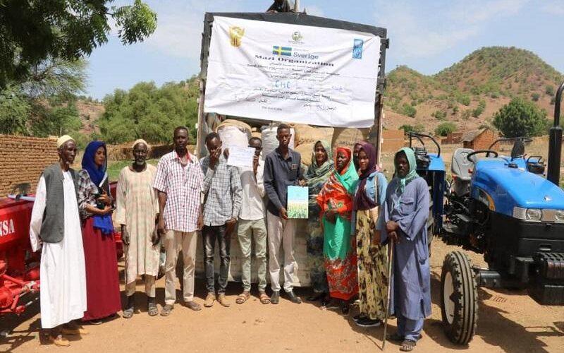منظمة ماذي الخيرية تنفذ مشاريع بمحلية قدير
