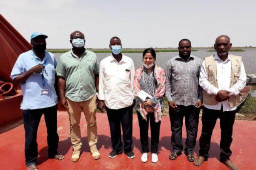 وفدمن مفوضية اللاجئين يتفقد مركز امتحانات الشهادة السودانية بجودة الحدودية