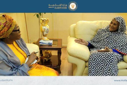 وزيرة الخارجية تلتقي المنسق المقيم للأمم المتحدة للشؤون التنموية والإنسانية