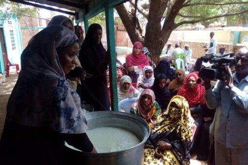 التقانة تنفذ يوما للحقل ضمن برنامج مدارس المزارعين للنساء الريفيات