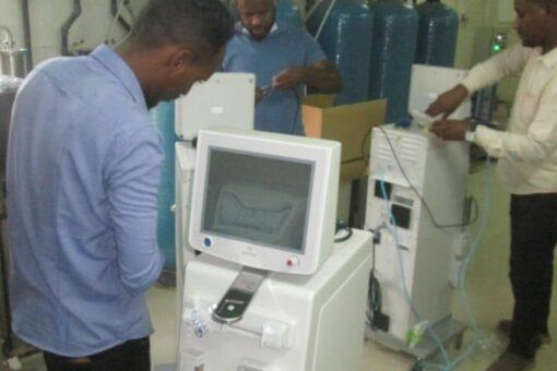 دعم من بنك البركة لمستشفى الجزيرة لأمراض وجراحة الكلى