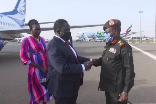 نائب رئيس جنوب السودان يصل البلاد