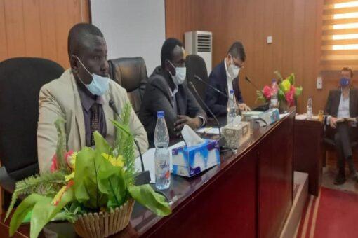 وفد منسقية القرار الأممي ١٥٩١ يطلع على الاوضاع بشمال دارفور