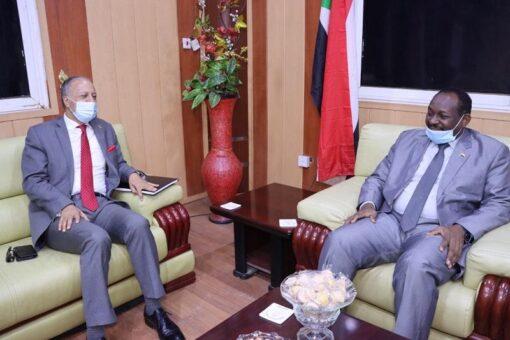بحث تفعيل مذكرات التفاهم بين السودان والأردن