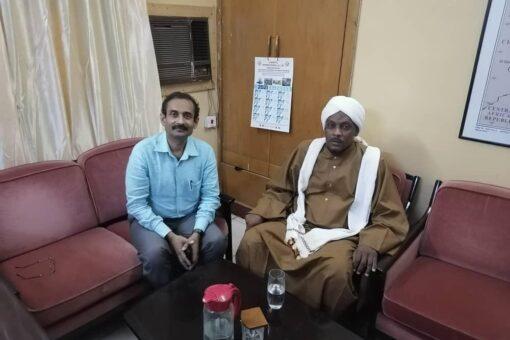 القنصل الهندي بالسودان يستقبل الأمين العام لمجمع الفقه الإسلامي