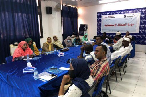 دورة تدريبية بطيبة برس بالتعاون مع المنظمة العربية للصحافة الاستقصائية