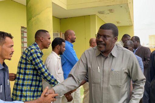 حجر يطمئن على الأوضاع الأمنية والسياسية والمجتمعية بشرق دارفور