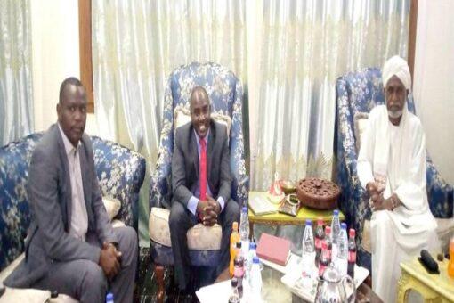اجتماع مشترك بين ولاة شرق ووسط وشمال دارفور
