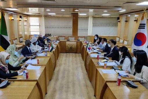 انعقاد لجنة التشاور السياسي بين السودان وكوريا الجنوبية