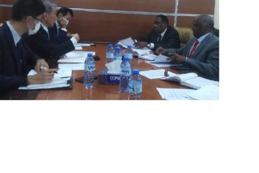 بحث اوجه التعاون الاقتصادي بين السودان واليابان