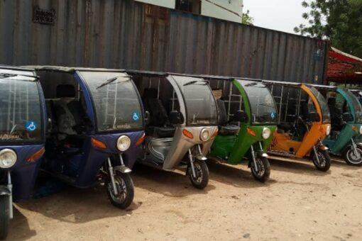 زكاة جنوب دارفور تملك وسائل حركية للمعاقين
