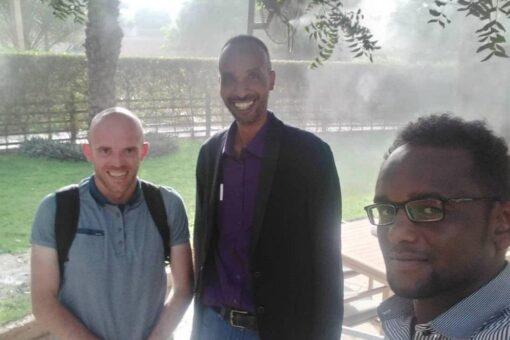 الناطق الرسمي للتحالف السوداني يلتقي بالمسئول السياسي للجنة الخبراء