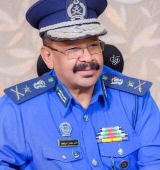 مدير عام قوات الشرطة يتفقد منسوبي الشرطة بالحاج يوسف
