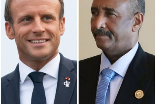 رئيس مجلس السيادة يبعث ببرقية تهنئة للرئيس الفرنسي