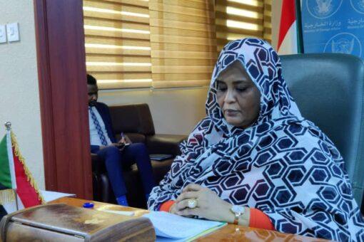 إجتماع وزيرة الخارجية بمدير الصحة العالمية