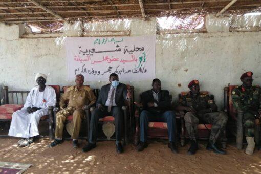 حجر:التماسك والوحدة السبيل الأوحد لحل كافة قضايا السودان