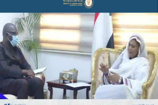 وزيرة الخارجية تلتقي بمساعد الأمين العام للأمم المتحدة