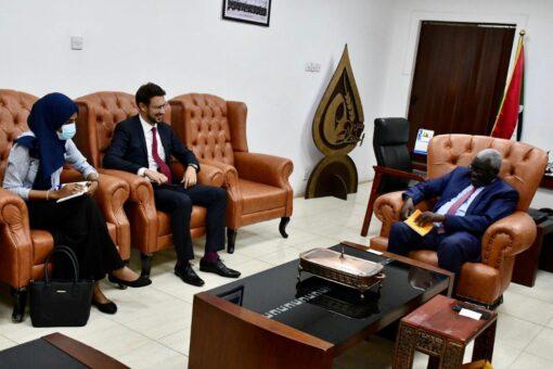 وزير التنمية الاجتماعية يلتقي نائب السفير الألمانيّ