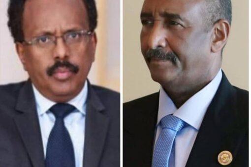البرهان يبعث ببرقية تهنئة لرئيس الجمهورية الصومالية الفيدرالية