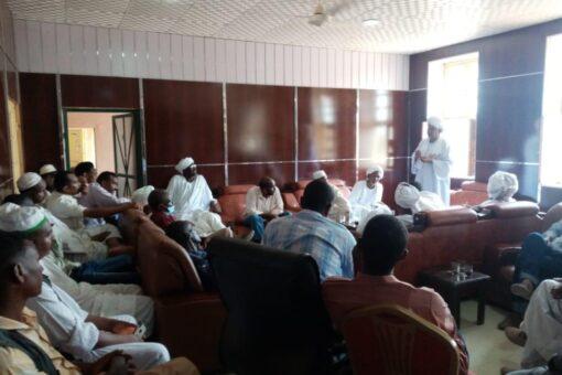 لجنة تطوير محلية القرشي تقف على سير العمل بمستشفي القرشي
