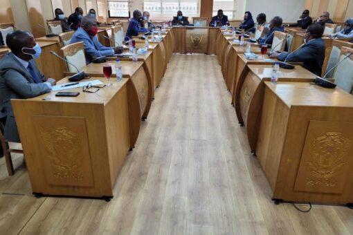 وكيل وزارة الخارجية يلتقي مجموعة السفراء الأفارقة المعتمدين لدى السودان