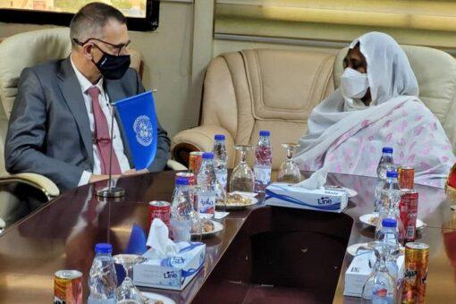 توقيع اتفاقية وضع بعثة الأمم المتحدة المتكاملة لدعم الفترة الانتقالية