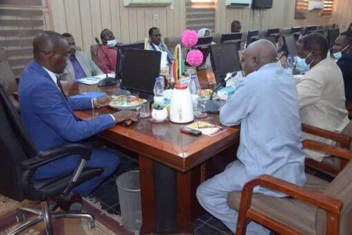 نمر يرأس الاجتماع الدوري لمجلس حكومة شمال دارفور
