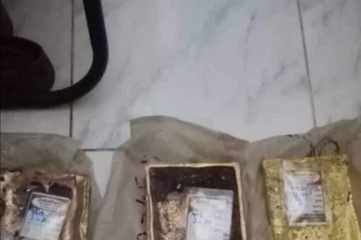 ضبط 33 كيلو جرام ذهب خام مهرب بولاية نهر النيل