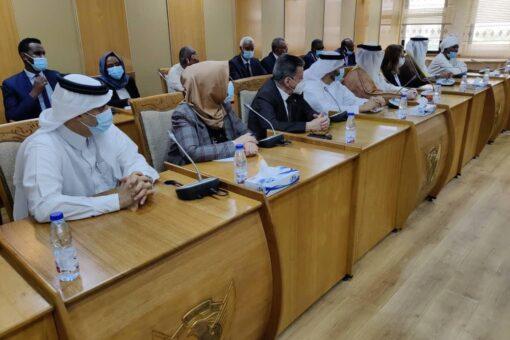 السفراء العرب يطلعوا على موقف السودان الثابت من سد النهضة