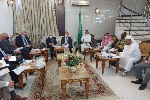 الرباعية تصدر بياناً بنتائج الاجتماع الذي عقد بمنزل السفير السعودي
