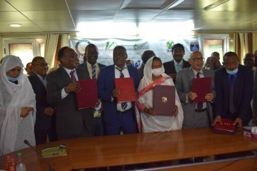جامعة السودان توقع مذكرة تعاون مع جامعة الإمام المهدي