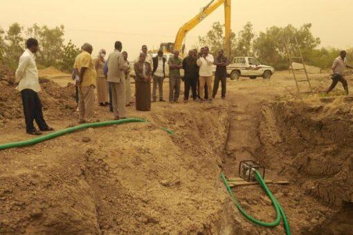 مساعٍ لحل مشكلة مياه محطة الدامر عطبرة الجديدة بالمقرن