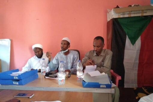 وفدالجبهة الثورية بغرب دارفور يقف على استعادادت استقبال الوالي الجديد