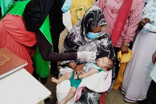 تدشين التطعيم بلقاح الحمى الصفراء وشلل الأطفال بالجزيرة