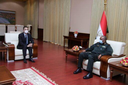 رئيس مجلس السيادة يؤكد متانة العلاقات السودانية الصينية
