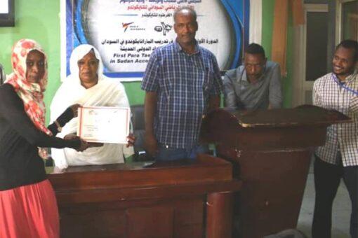 تخريج أول دفعة من مدربي الباراتايكوندو في السودان