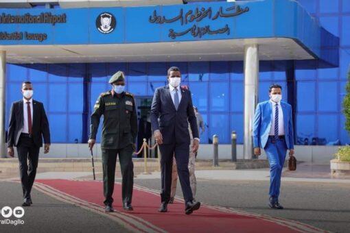 النائب الأول لرئيس مجلس السيادة يتوجه إلى جـــوبا