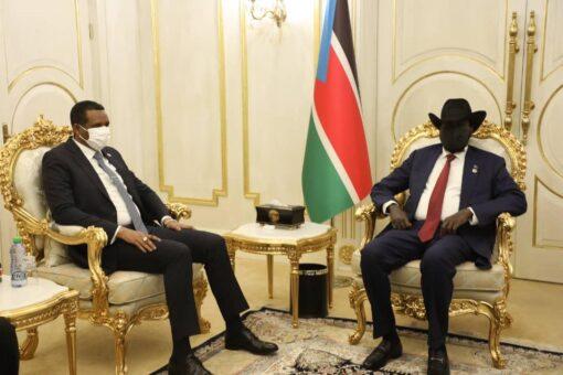 دقلو يقف على مسار تنفيذ اتفاق السلام بجنوب السودان