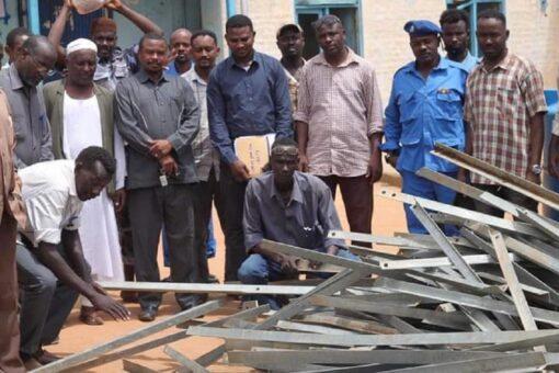 شرطة بابنوسة تضبط مخربي الأبراج الناقلة لخط الكهرباء الفولة بابنوسة