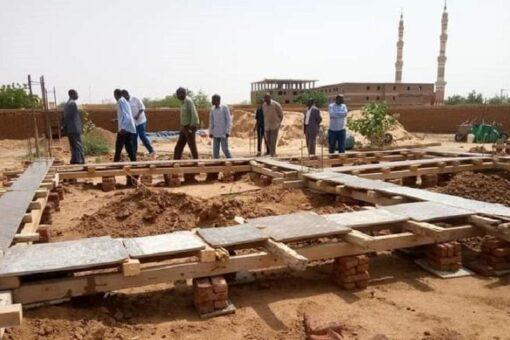 المديرالعام للبنى التحتية بشمال دارفور يتفقد سير العمل بالمشاريع الجديدة