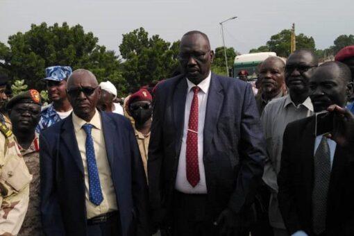 حاكم إقليم النيل الأزرق يشيد بمواقف قيادة الفترة الإنتقالية