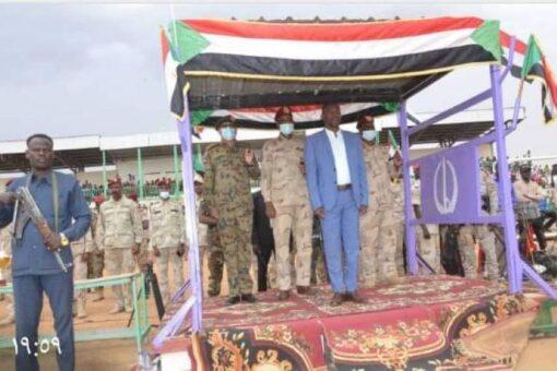 والي شمال دارفور يشهد تخريج دفعة من قوات الدعم السريع