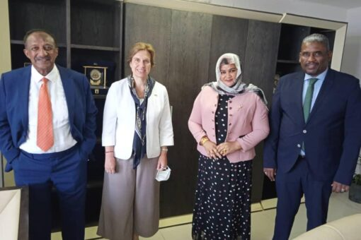 بحث تنشيط علاقات التعاون التجاري بين السودان والسويد